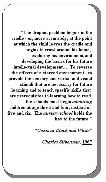 child care  the missing link